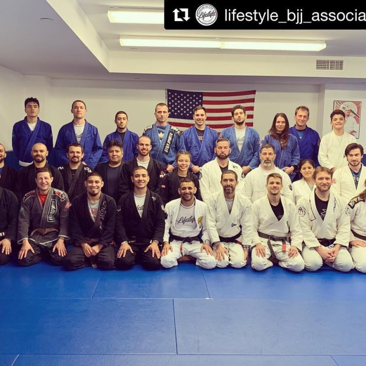 Group Photo of Students at Lifestyle MMA