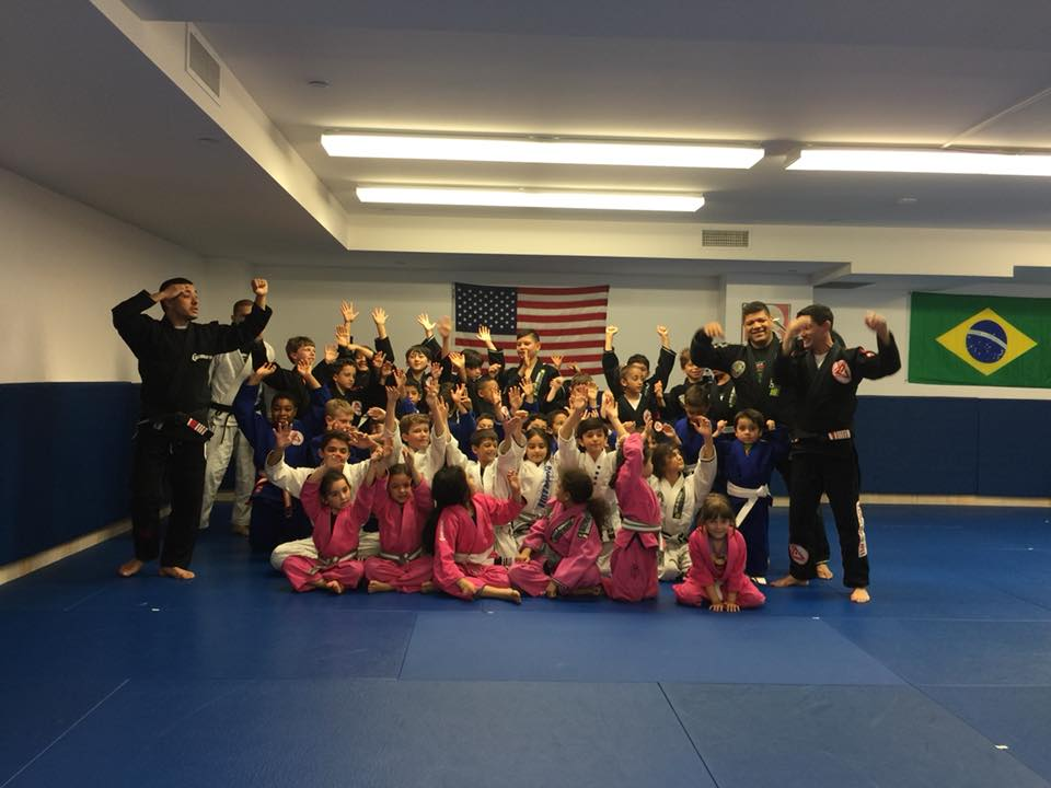 Group of Students Celebrating at Lifestyle MMA