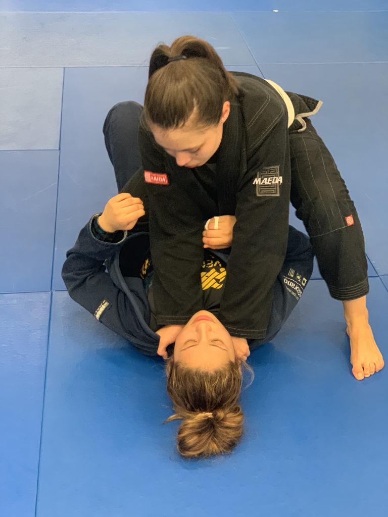 Women's Jiu-Jitsu class at Lifestyle MMA