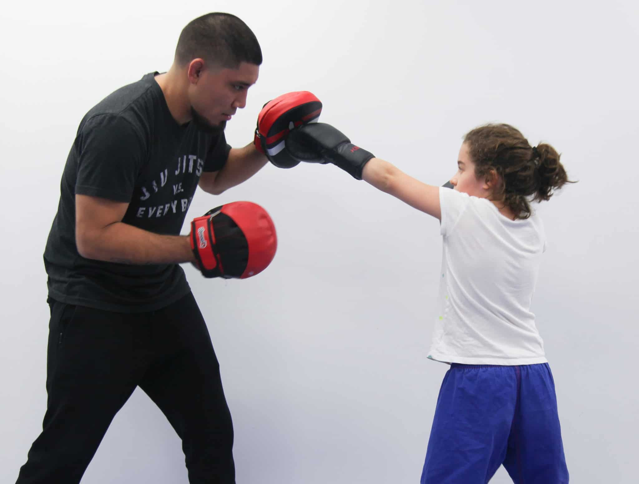Teacher and Student Kickboxing at Lifestyle MMA